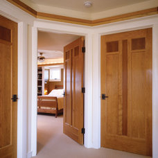 Contemporary Hall by TruStile Doors