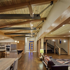 Contemporary Hall by Kelly & Stone Architects