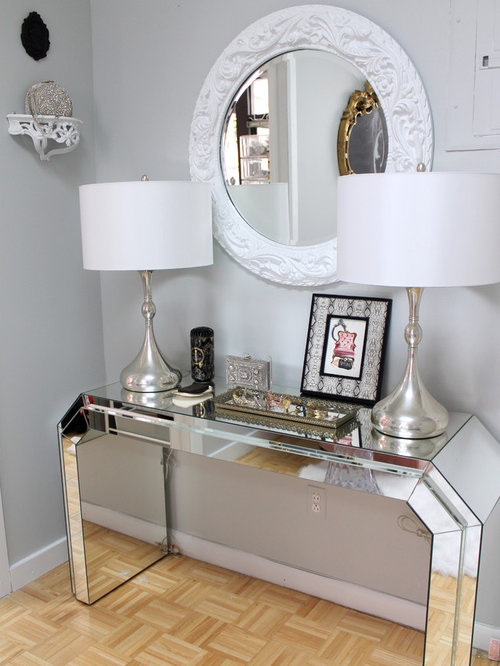 Hallway Console Table And Mirror mirror and console table | houzz