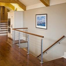 Beach Style Hall by Andrew Robbins Fine Custom Homes, Inc.