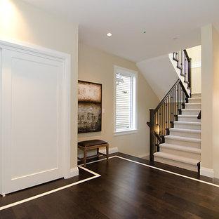Hardwood Floor With Carpet Inlay Houzz