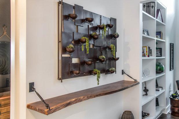 Contemporary Corridor by Living Stone Design + Build