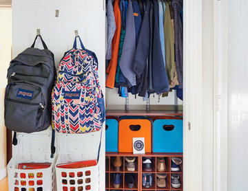 Organization of All closets in a Family home