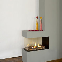modern fireplaces by Ortal USA