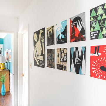 Our Palm Beach Color-Splosion Apartment!
