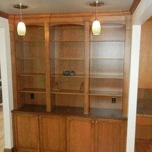 Hardwood Interiors Built-Ins