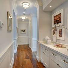 Traditional Hall by Square Footage