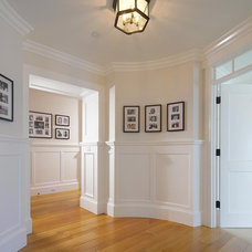 Traditional Hall by Patterson Custom Homes