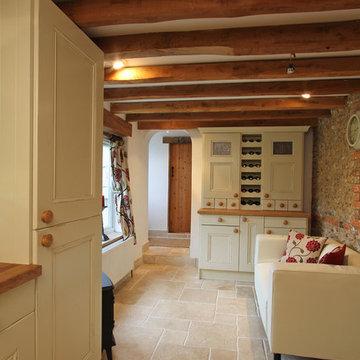 Painted Oak Kitchen