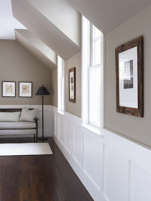 Berkshire beige home design ideas pictures remodel and decor - Quelle couleur peindre un couloir ...