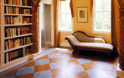 Floors Painted Wood Floors - Are You Gutsy Enough To Paint Your Floor White?