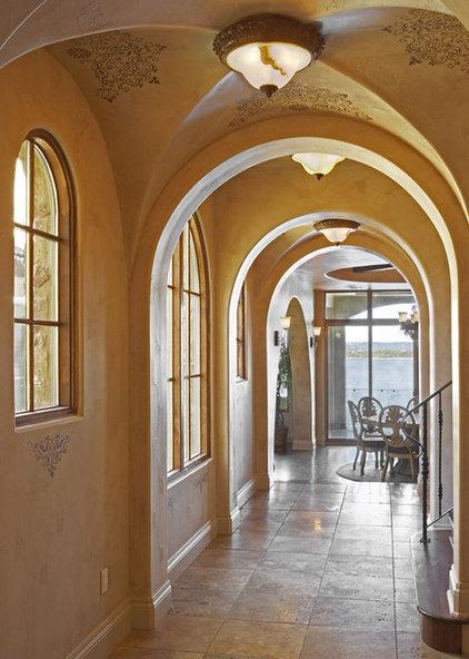Mediterranean Hall by Vanguard Studio Inc.