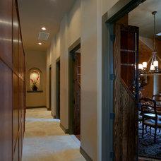 Modern Hall by Rob Sanders Designer - Custom Home/Remodel Design