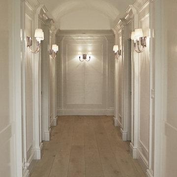 Parisian Chateau - Master Suite Dressing Rooms www.hryanstudio.com
