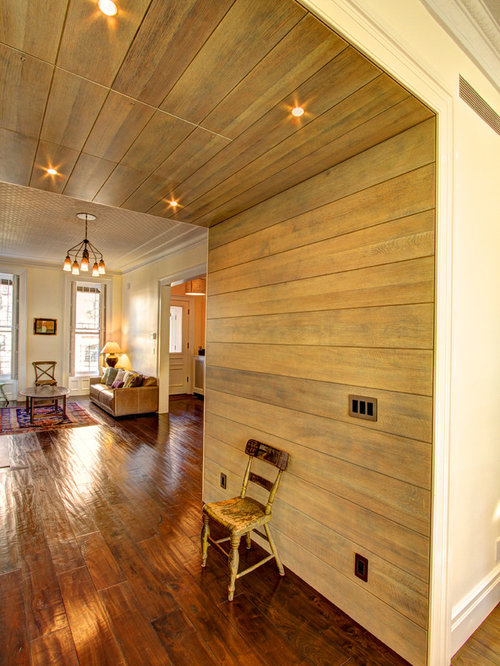 Horizontal paneling houzz for Horizontal wood siding panels
