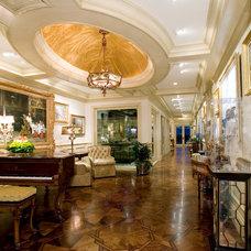 Traditional Hall by Gaetano Hardwood Floors, Inc.