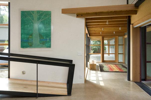 Contemporary Hall by Balance Associates Architects
