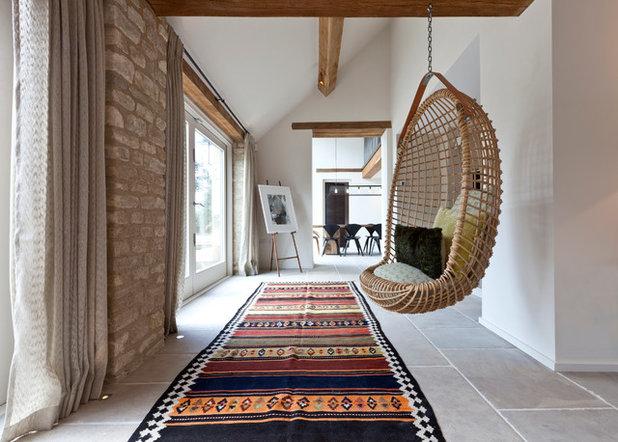 Farmhouse Corridor by Clifton Interiors Ltd