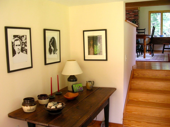 Traditional Hall Penobscot Bay Cottage