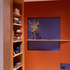 Contemporary Hall by Gleicher Design - Architecture & Interiors