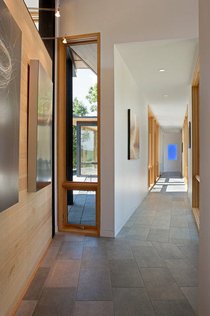 modern hall by Carlton Architecture