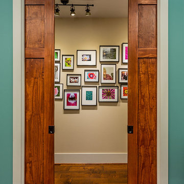 Pocket doors to control public and private