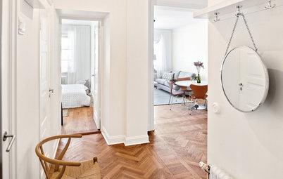 Trendspaning: Runda speglar förstorar och förskönar alla rum