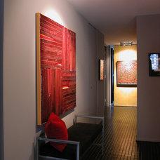 Modern Hall by Powell/Kleinschmidt, Inc.
