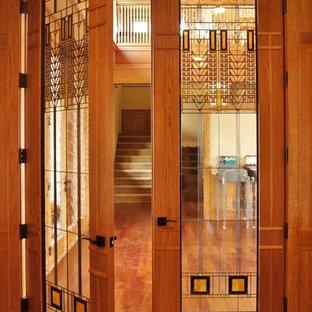 Immagine di un ingresso o corridoio minimal