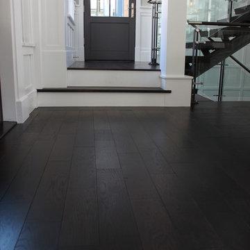 Prefinished Engineered Oak Flooring & Stair Treads