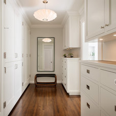 Traditional Hall by Upscale Construction