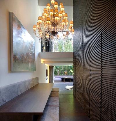 Contemporary Hallway & Landing by Found Associates