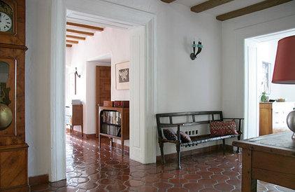 Mediterranean Hall by valerie pasquiou interiors + design, inc