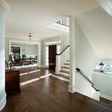 Traditional Hall by McIntyre Capron & Associates,