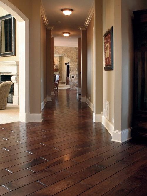 Elegant Brown Floor Hallway Photo In Chicago