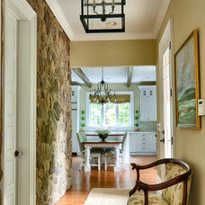 Traditional Hall by Cassel Interiors, Inc.