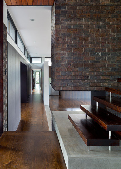 Modern Hall by Brickworks Building Products