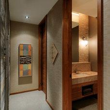 Rustic Hall by Birdseye Design