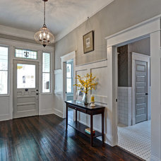Traditional Hall by Carl Mattison Design