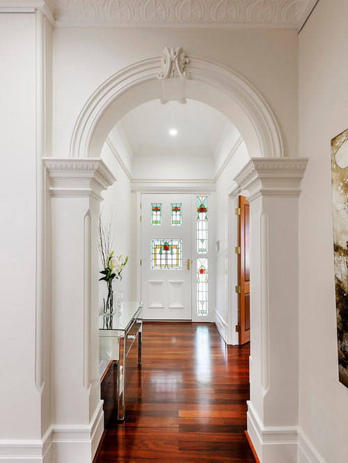 Victorian Foyer Ideas : Victorian hallway design ideas renovations photos