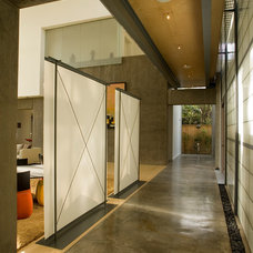 Modern Hall by Intexure Architects