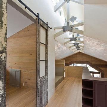 Rammed Earth Hallway