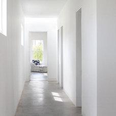 Modern Hall by Houseplans Studio