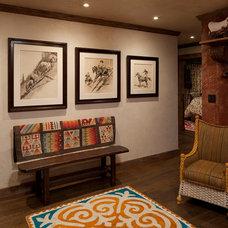 Rustic Hall by Rachel Mast Design
