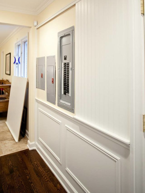 Hiding Electric Panels Houzz