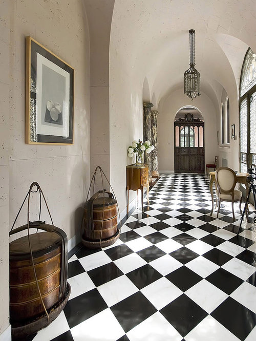 Checkerboard Floor Home Design Ideas Pictures Remodel