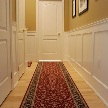 Recessed Paneled Wainscoting