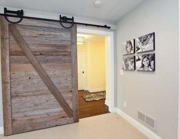 Reclaimed Sliding Wood Door