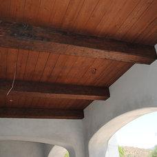 Traditional Hall by Woodland Custom Beam Company