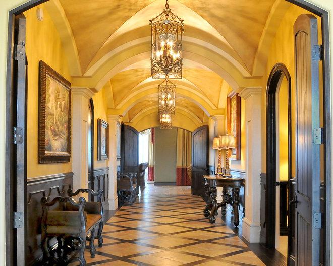 Traditional Hall by Regency Interior Design,LLC
